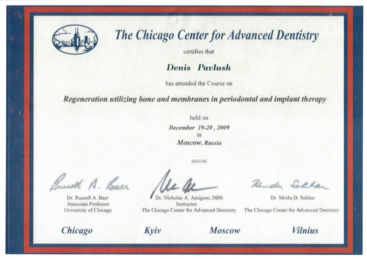 2009 Regeneration utilizing bone and membranes in periodontal and implant therapy